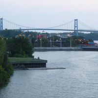 Toledo docks upstream, Толидо