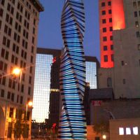 Art Tatum scupture downtown Toledo Ohio, Толидо