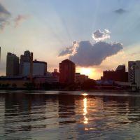 Downtown Toledo, Ohio, taken from International Park, Толидо