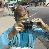 "Detail from ""Photo Shoot"" by J. Seward Johnson, Трои"