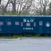 B&O Train Car @ Olde Town Commons, Trotwood, OH, Тротвуд