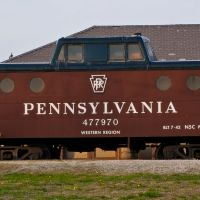 Pennsylvania Train Car @ Olde Town Commons, Trotwood, OH, Тротвуд