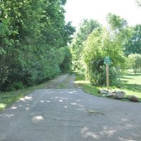 End of the Wolf Creek Bike Trail, Тротвуд