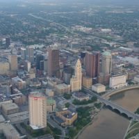 Downtown Columbus - from air, Урбанкрест
