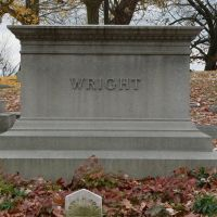 Wright Brothers and Family burial site at Woodland Cemetery in Dayton Ohio, Флетчер