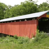 Stevenson Road Covered Bridge, Флетчер