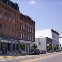 Downtown Fremont, Ohio on South Front Street, Фремонт