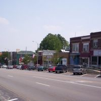 Downtown Fremont, Ohio on West State Street, Фремонт