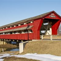 Bigelow/Little Covered Bridge, Харрод