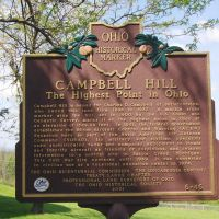 Campbell Hill, Highest Point in Ohio Great Lakes, GLCT, Харрод