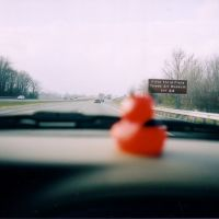 Devil Duck on the Ohio Turnpike, Харрод
