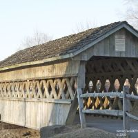 Fairgrounds Covered Bridge on fairgrounds at Hilliard, Хиллиард