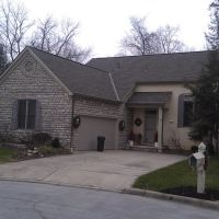 Westerville, Ohio Roofing- GAF Timberline Weathered Wood, Хубер-Ридж