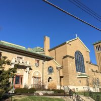 St. Martins Kirche aus St. Martin Straße, Cheviot, Cincinnati, OH, Чевиот