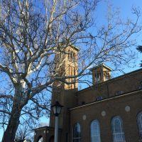 St. Martins Kirche aus Harding Straße, Cheviot, Cincinnati, OH, Чевиот