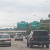Exit 14 to Glendale-Milford Rd on I-75 Southbound 08/14/2011, Эвендейл