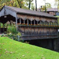 Decorative covered Bridge, Sharonville, Эвендейл