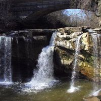 West Falls, Cascade Park, Elyria Ohio, Элирия