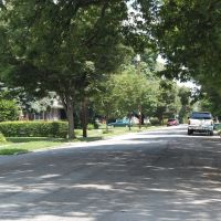 Ryland Avenue east from Oakdale - Cincinnati, Ohio, Элмвуд-Плейс