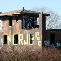 Abandoned Railroad Building (I-75, St. Bernard), Элмвуд-Плейс