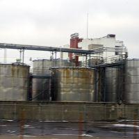 2012 12-27 I-75 southbound - bourbon tanks, Элмвуд-Плейс
