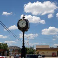 2011 07-11 Oklahoma - Vinta - clock, Винита