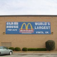 Worlds Largest McDonalds Vinita OkLaHoMa!, Винита