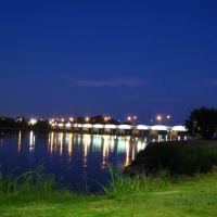Arkansas River at River Crossing, Дженкс