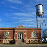 2011_12-17_Hobart Oklahoma_P1010768_1912 Carnegie Library, Жеронимо