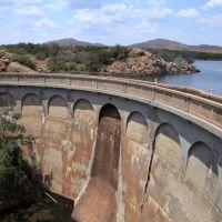 Quanah Parker lake dam, Жеронимо