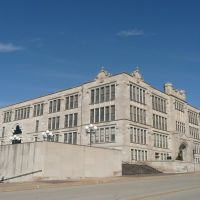 2010_02-27_Oklahoma City OK_P1100989_1910 Central High School, Маскоги