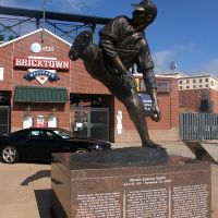 Bricktown Ballpark - Statue/Entrance (9/2010), Маскоги