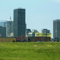 Down Town,Oklahoma City,Oklahoma,USA, Мидвест-Сити