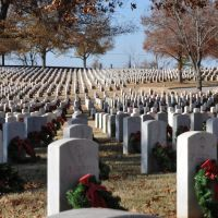 The National Cemetery in Forth Smith, Arkansas, Моффетт