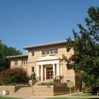 Norman, OK USA - University of Oklahoma, Carnegie Bldg, Норман