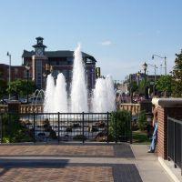 Bricktown Fountain, Оклахома
