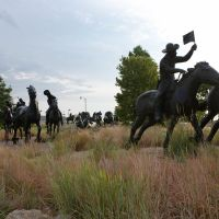 Oklahoma Land Run Monument, Росдейл