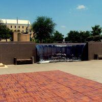 Oklahoma City National Memorial Fountain, Салфур