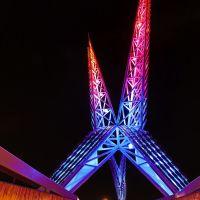 Skydance Bridge, OKC, Салфур