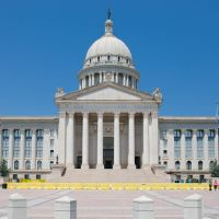 Oklahoma State Capitol, Салфур