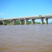 Highway 97 from the Arkansas River Sand Springs OK, Санд-Спрингс