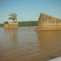 Arkansas River in Sand Springs Oklahoma S 97 w ve river art, Санд-Спрингс