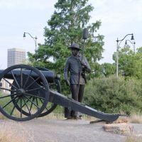 Oklahoma Land Run Monument, Ти-Виллидж