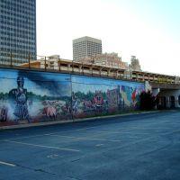 Bricktown Mural, Тулса