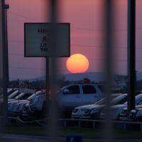 sun set, Форт-Силл