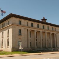 2010_05-02_Chickasha Oklahoma_P1110301_1913 US Post Office &, Чикаша