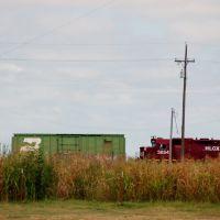 Helm Leasing Company Locomotive No. 3854 at Chickasha, OK, Чикаша