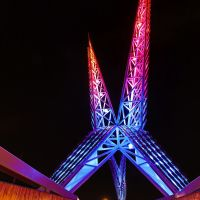 Skydance Bridge, OKC, Шавни