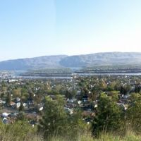 panorama of the dalles, Даллес