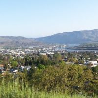 The Dalles view from scenic dr, Даллес